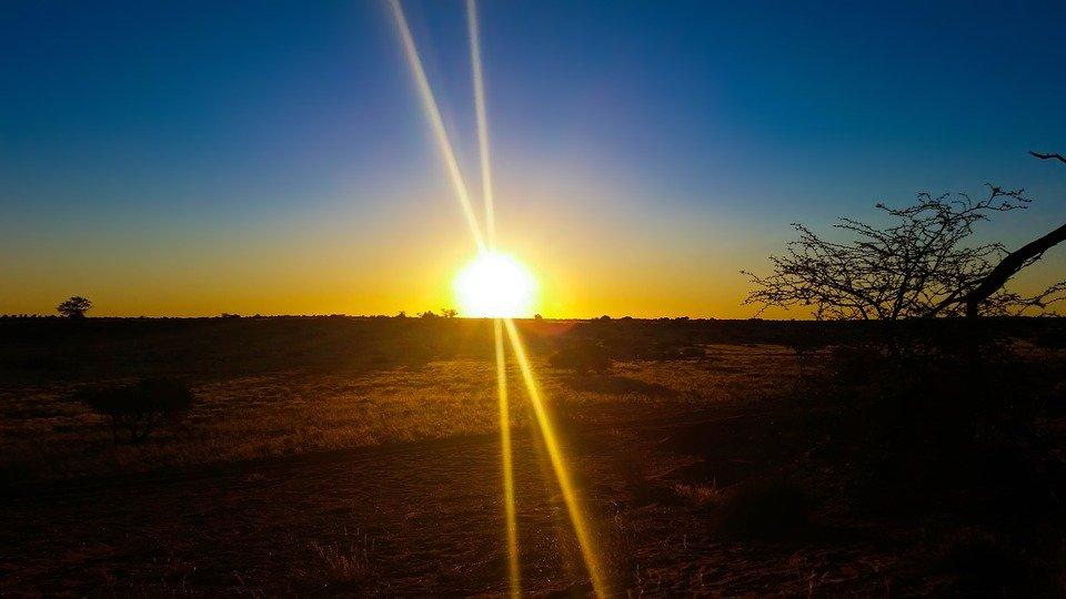 climat Kalahari Botswana