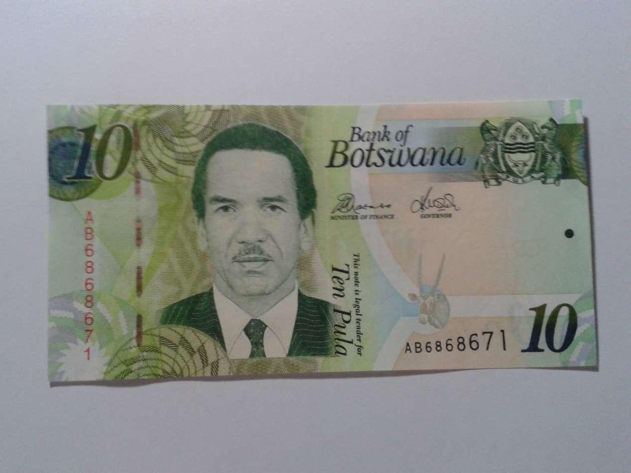 monnaie au Botswana
