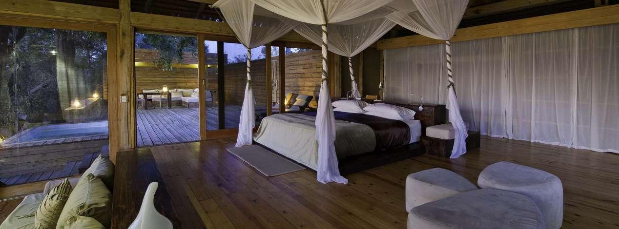 hébergement luxe botswana