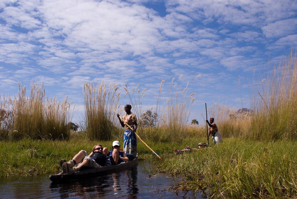 séjour au Botswana