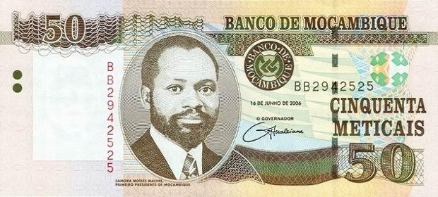 monnaie au Mozambique