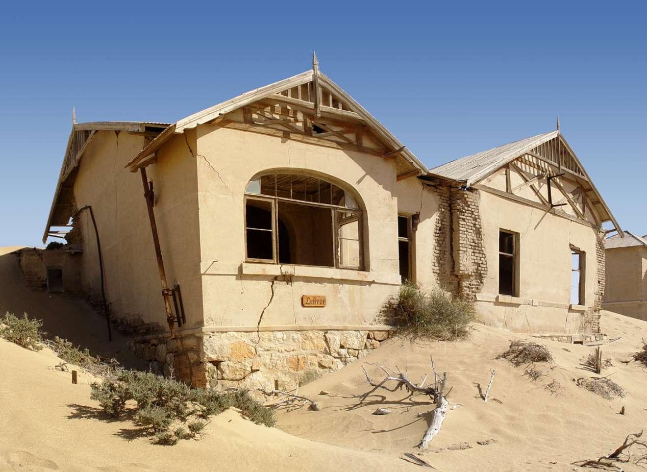 Kolmanskop Namibie