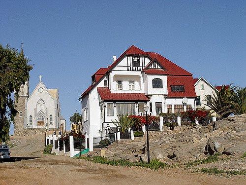 Lüderitz Namibie