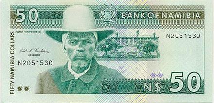 monnaie en Namibie