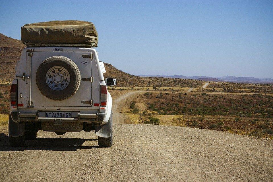 piste en Namibie