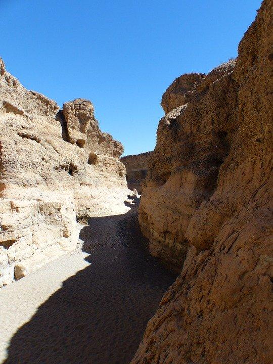 Sesriem Canyon Namibie