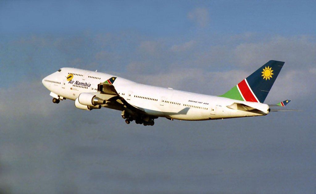 vols pour la Namibie