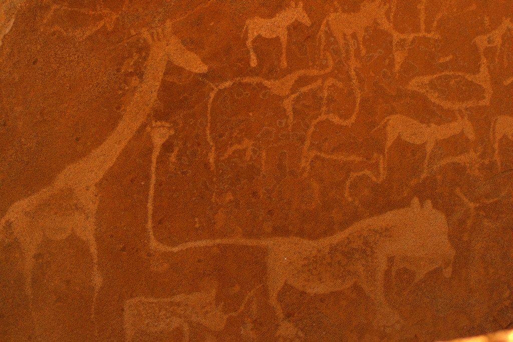 Twyfelfontein Namibie