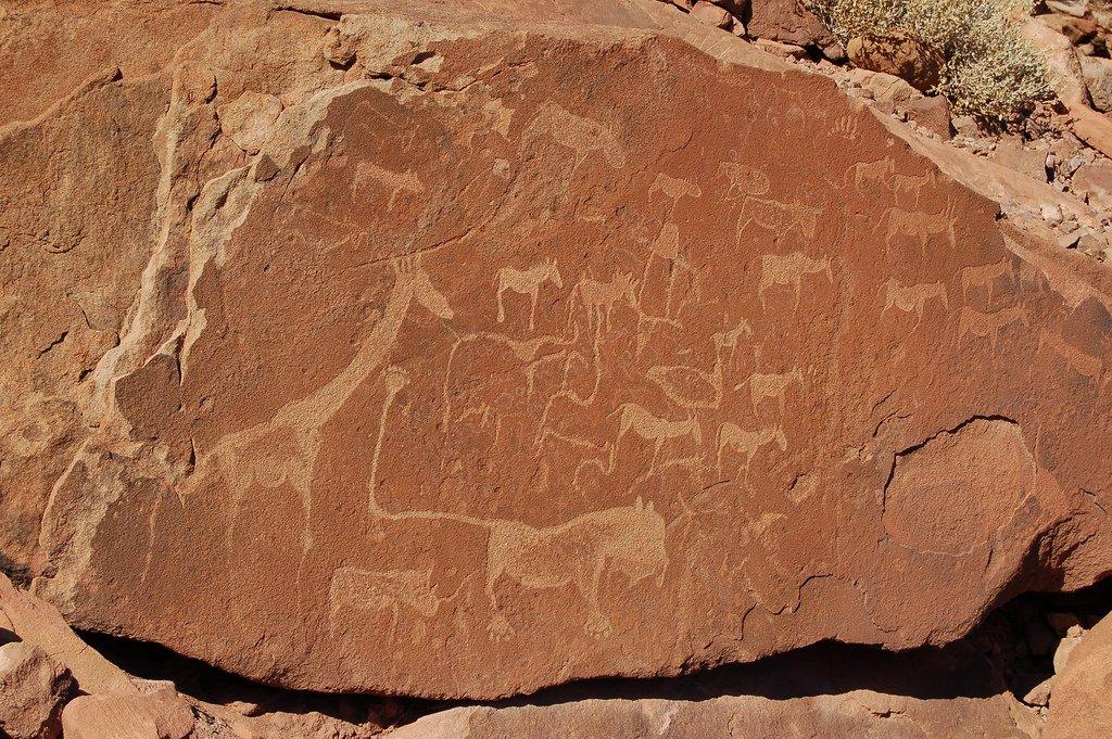 Twyfelfontein peintures rupestres