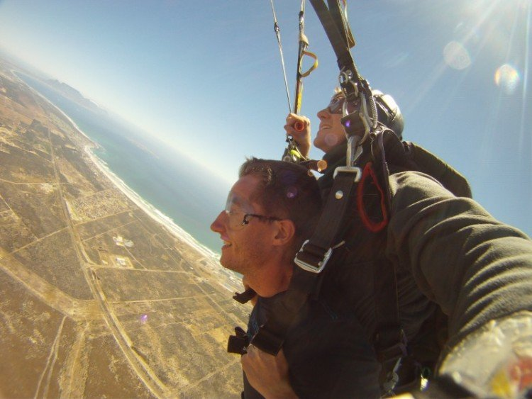 Photos Skydive à Cape Town