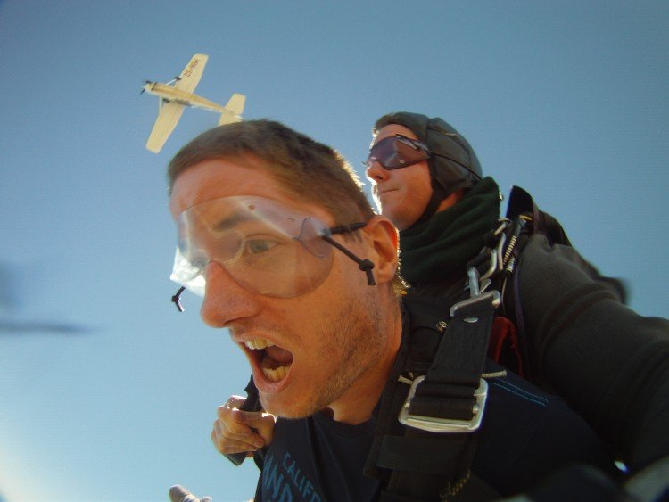 skydive à cape-town
