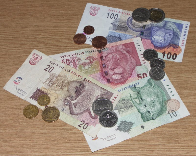 monnaie en afrique du sud