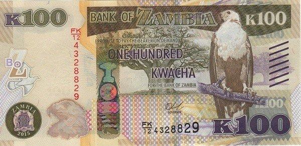 Monnaie en Zambie
