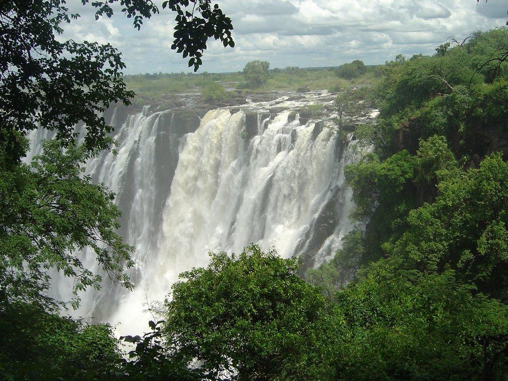 Chutes Victoria en Zambie
