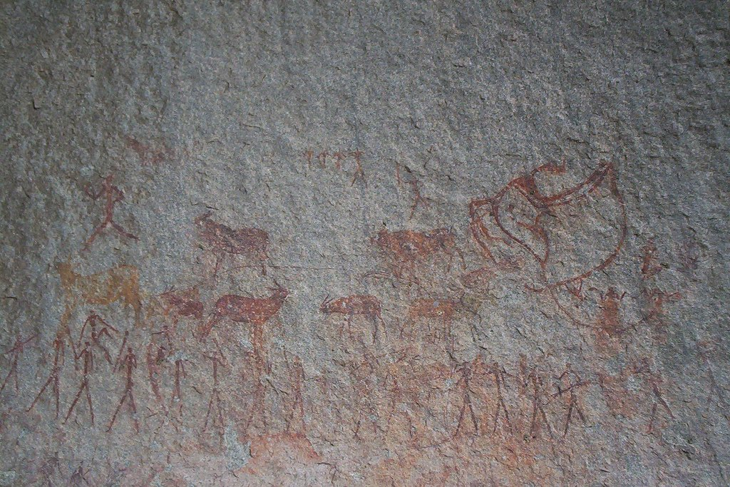 Matopos peintures San