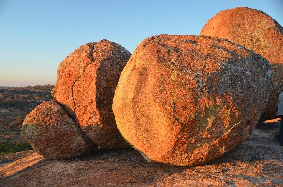 roches granitiques matobo